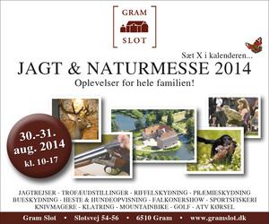 Jagt- og naturmesse på Gram Slot