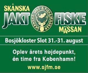 Jagt- og fiskemesse i Skåne