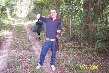 Mit første bytte tilbage i 2006 i Mozambique
