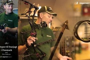 Buetyper til jagt i Danmark