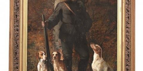 Jagtmaleri - Elisabeth Jerichau Baumann