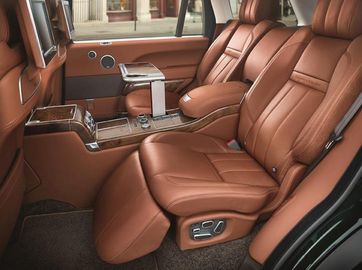 Range Rover indvendig
