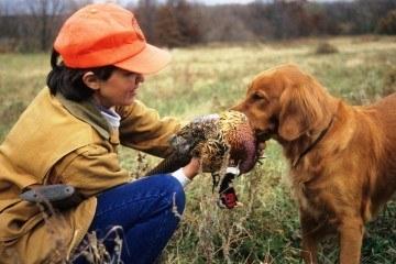 Kvindelig jæger Foto Wisconsin Department of Natural Resources