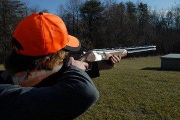 Lerdueskydning med Beretta jagtgevær