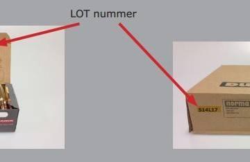 Norma ammunition tilbagekaldes