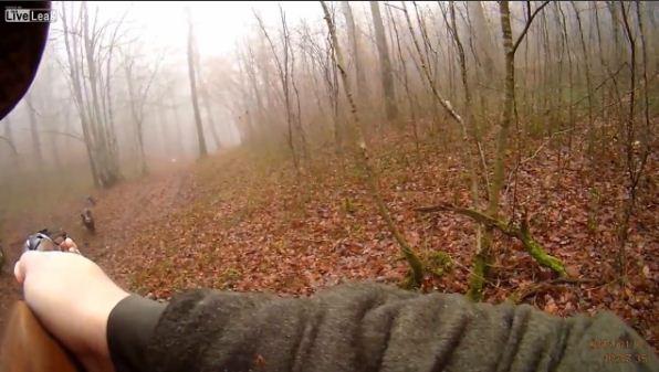 Vildsvin angriber jæger