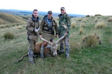 team csi hunting new zealand