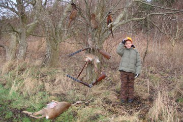 børn og jagt