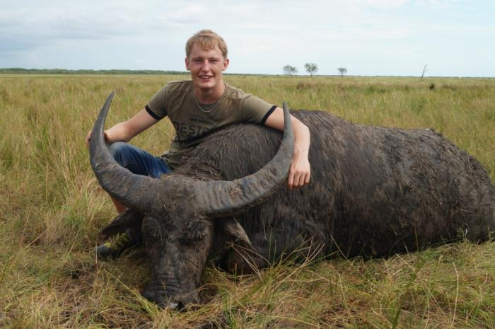 Bøffeljagt i Australien