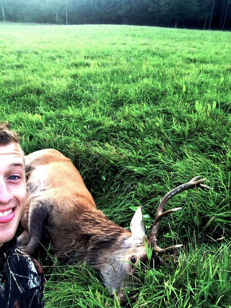 Hjorte-Selfie