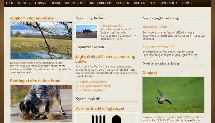 jægernes magasin online jagtmagasin