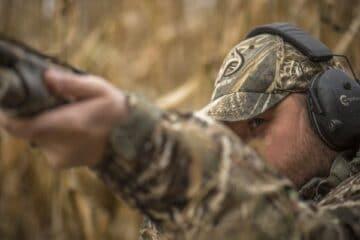 Sort jagt høreværn