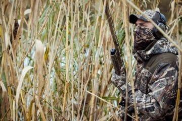 Jagtjakke med camouflage