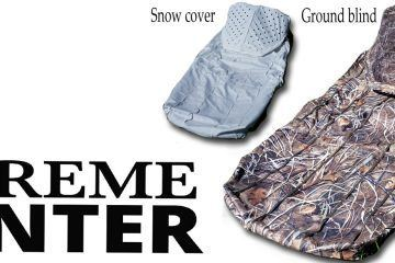 new product SUPREME HUNTER  ground blind