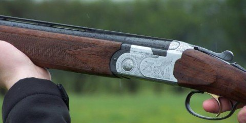 oversavet jagtgevær