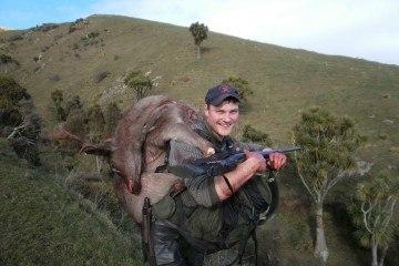Jagt i New Zealand er hårdt arbejde