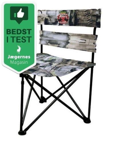Foldbar Camo Jagtstol med Ryglæn