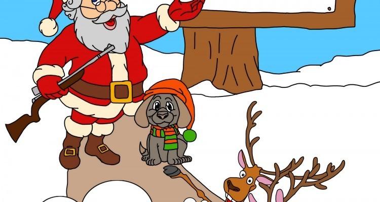 God jul hjort